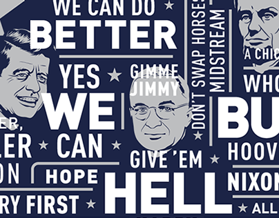 The Campaign Slogans T-shirt and Poster