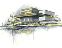 C.A.R.A. Boathouse; An Architecture of In-Between