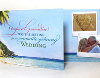 John & Catherines Wedding Invitation Design