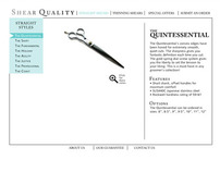 ShearQuality.com web design