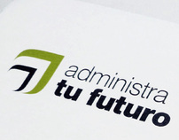 administra tu futuro business stationery