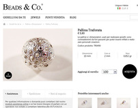 Beads & Co. - Restyling website