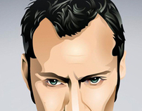 JUDE LAW DIGITAL ILLUSTRATION