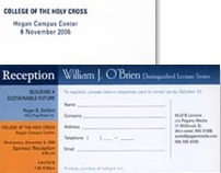 Advertisement Booklet and Reception ticket