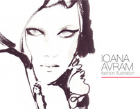 IOANA AVRAM fashion illustration PORTFOLIO