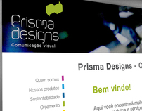 Prisma Designs - Web site