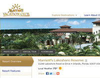 Marriott Vacations Club Resort Pages