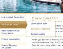 Marriott Vacations Club Navigation