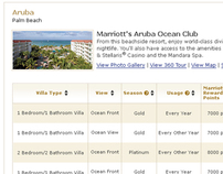 Marriott Vacation Club Specials Page