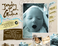 Birth Announcement Site