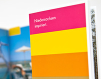 Tourists Coffeetablebooklet »Lower Saxony inspires«