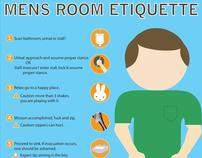Bathroom Etiquette Signs Workplace Bathroom Etiquette Signs
