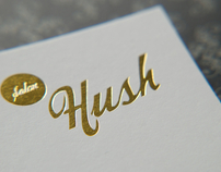 Salon Hush Identity
