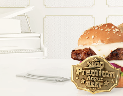 Hardee's Premium Thickburger