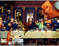 Last Supper with Dali