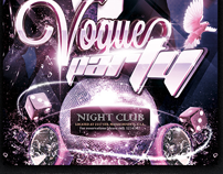 Vogue Show / Party Flyer