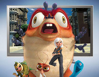 Samsung & Dreamworks: Monsters vs. Aliens 3D