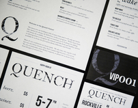 Quench / Restaurant & Bar Identity