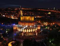 Yerevan - gems in the night