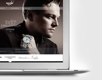 webdesign / distributor of exclusive watches