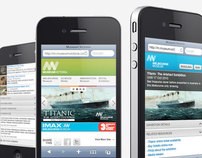 Museum of Victoria Mobile Site