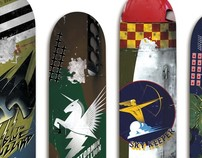 WWII Fighter Plane Skateboards