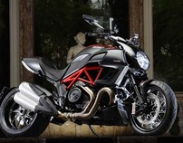 Ducati Performance accessories for DIAVEL