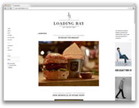Loading Bay Website