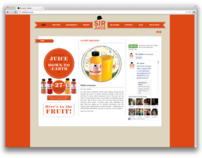 Sir Juice website