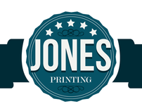 Jones Printing Co. Identity Package