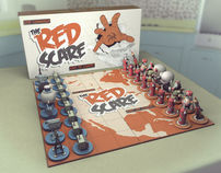 The Red Scare Chess Set