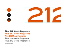 Branding for 212 Mens Fragarance by Burburry