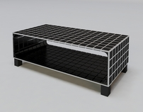 Cellia - coffee table concept.