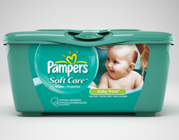Pampers Packshots