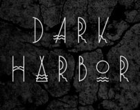 Dark Harbor typeface