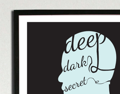 Deep, Dark, Secret Web Conference Poster