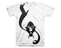 Aero Cheeky Monkey T-shirt