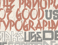 The Principles of Good Typography.