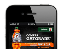Gatorade Promo 2012 Web & Mobile Design