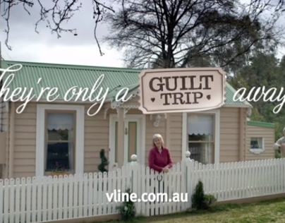 V/Line Guilt Trips- Integrated Campaign