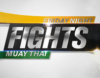 Friday Night Fights Muay Thai Rebrand