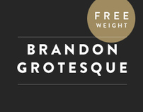 Brandon Grotesque (Typefamily)