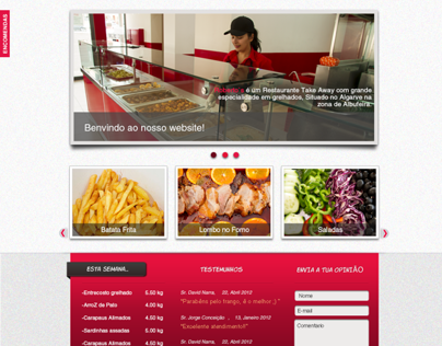 Website Roberto´s Chicken piri-piri
