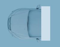 AUDI / Adaptive Cruise Control Print Ad.