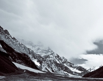 Where angels dwell - Lake Saif ul Maluk (B&W)