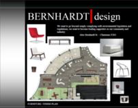 Bernhardt design Furniture Showroom Concept