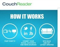 Couch Reader Website UI Design
