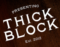 Thick Block Revival Typeface