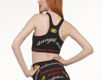 Norma Kamali, Printed Activewear