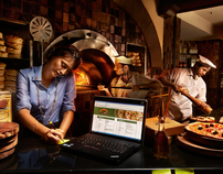 LENOVO GLOBAL CAMPAIGN 2012- The Pizzeria owner